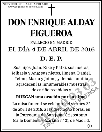 Enrique Alday Figueroa
